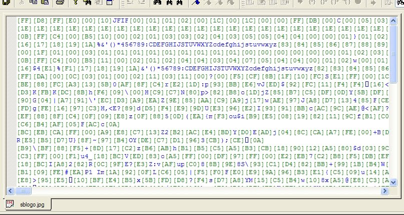 Editing binary