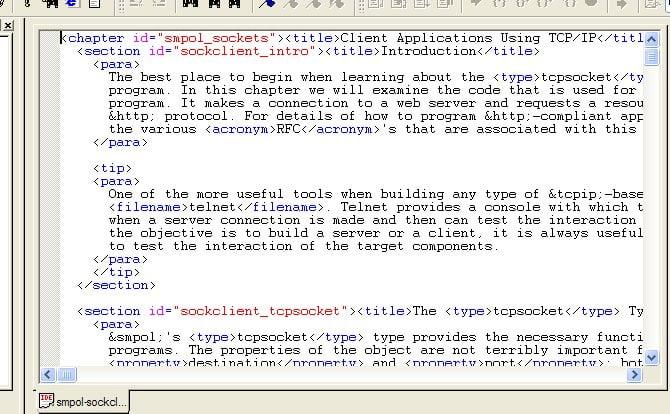 Editing XML